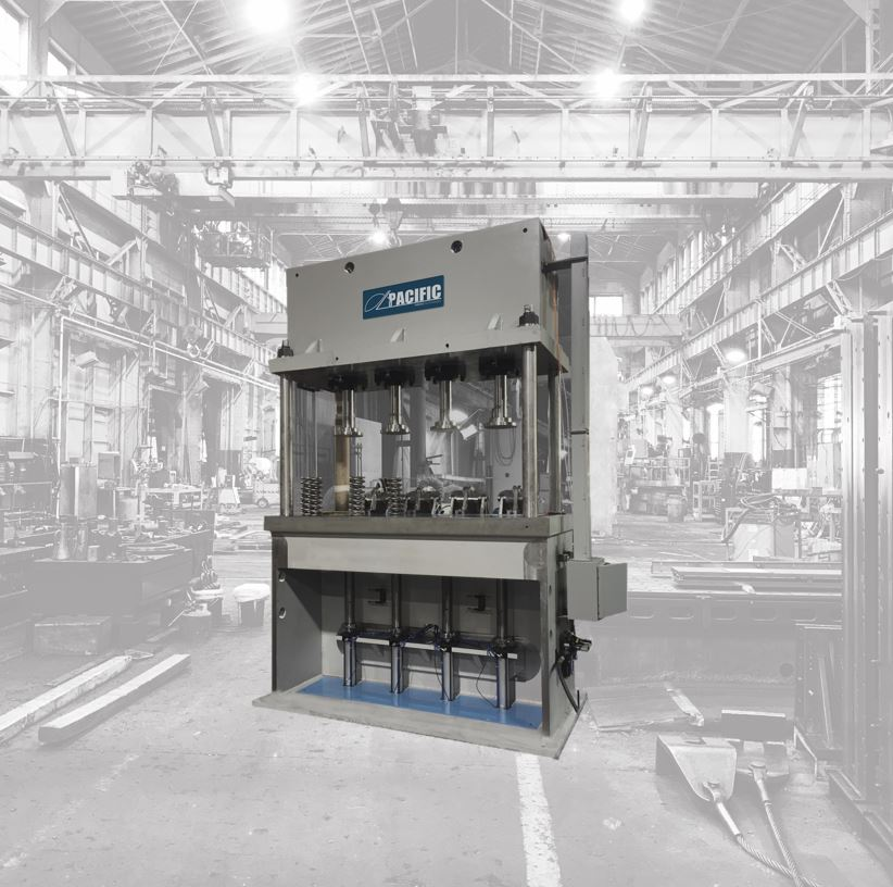4-Post Hydraulic Press | Pacific Press Technologies